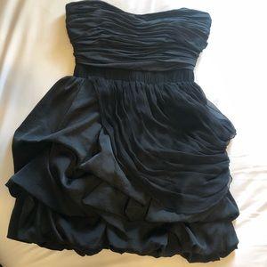 Black Bebe Cocktail Dress